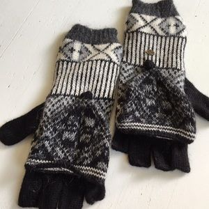 Free People Emilime Pop Top Mittens